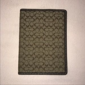 Coach Passport Holder